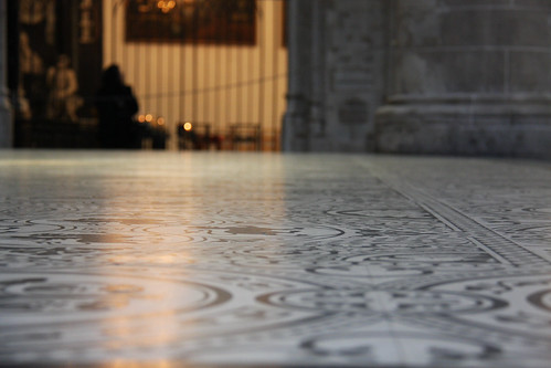 Brussels Cathedral Floor