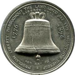 Centennial Medal: Reverse of Baker 397