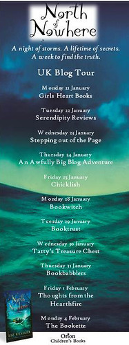 North of Nowhere blog tour