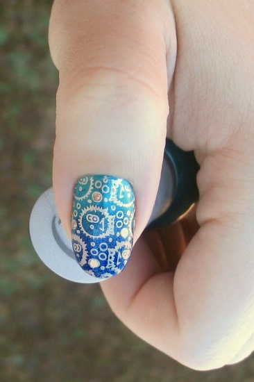 Gradient Sea Stamping (Cheeky), thumb