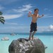 Collection of shots that I like - jump . Tahiti