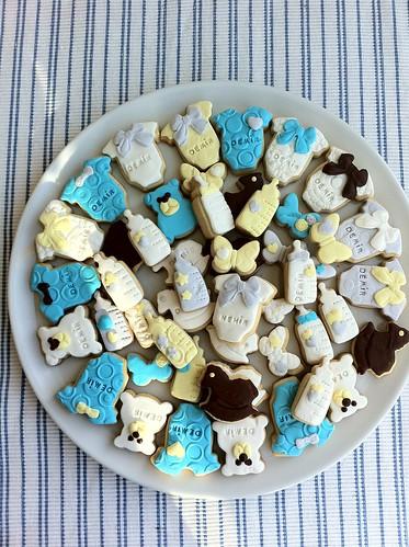 Mini baby cookies
