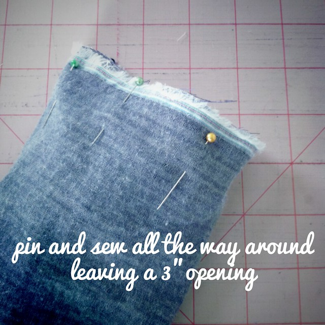 6-pin and sew