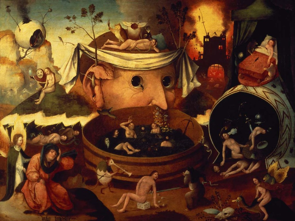 [ B ] Follower of Hieronymus Bosch - Tondal's Vision (c.1490s)