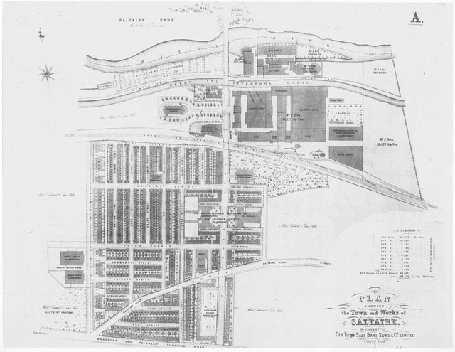 Saltaire Plan