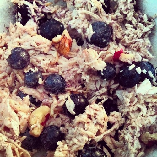 Nuts and Berries Turkey Salad