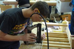 George and the nail gun