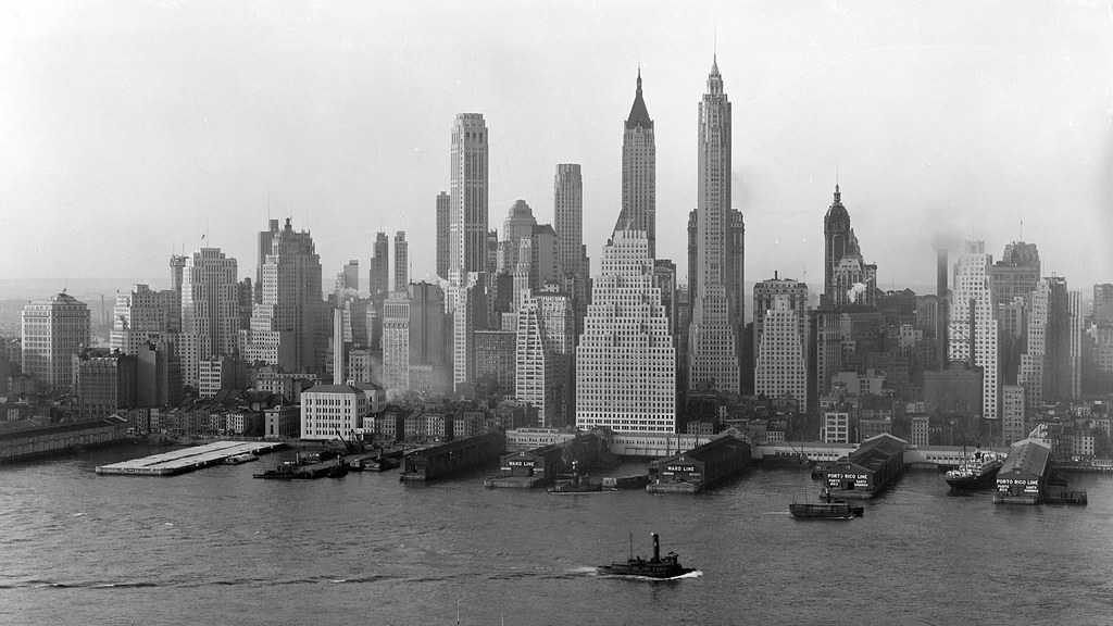 Old Pics New York City Page 121 Skyscrapercity