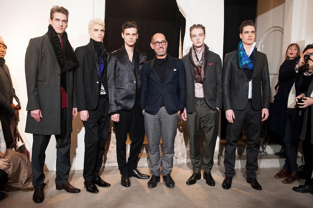 FW13 Paris Gustavolins018_Robin Barnet,Maxim Mitrofanov,Douglas Neitzke,Roberto Sipos,Torbjorn(fashionising.com)