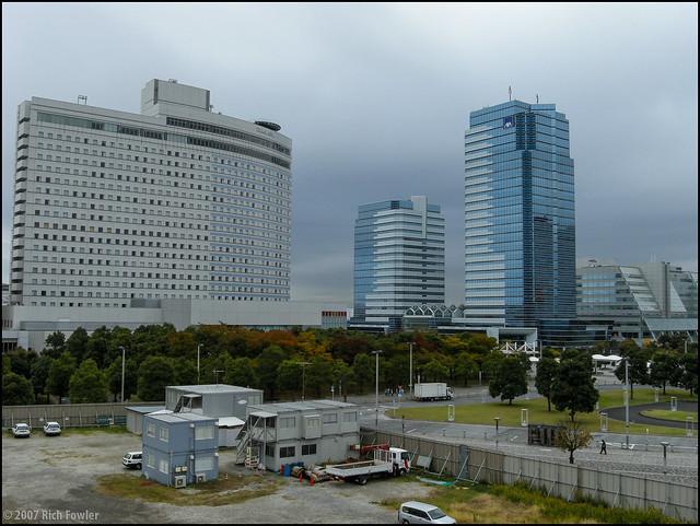 Odaiba--Ariake Area