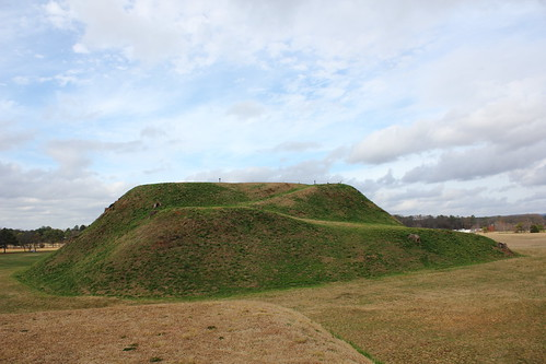 Mound's unfinished side