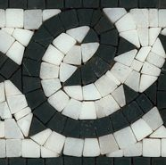 Marble and granite border design