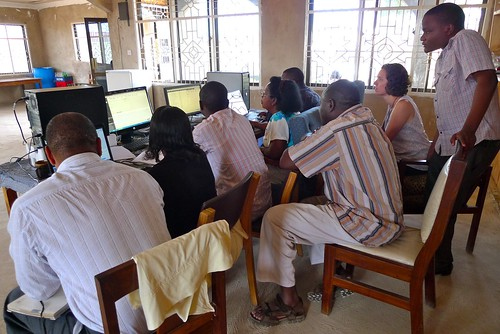QuickBooks training (in Swahili)