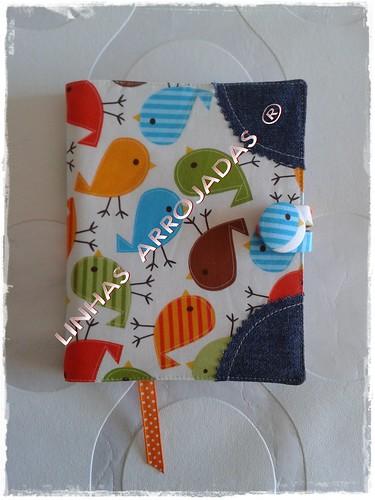 bloco de notas passarinhos by Linhas Arrojadas Atelier de Costura ® Trademark