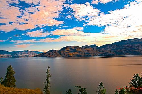 travel vacation lake britishcolumbia bluesky hdr okanaganlake summerroadtrip okanaganlakebc aug11va