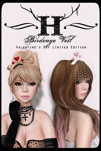 LIMITED EDITION Birdcage Veil for SFW by Half-Deer (Halogen Magic)