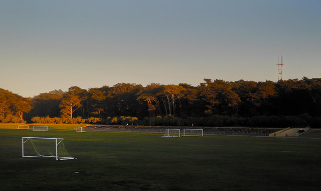 Polo Fields at Golden Gate Park, Afternoon. San Francisco (2013)
