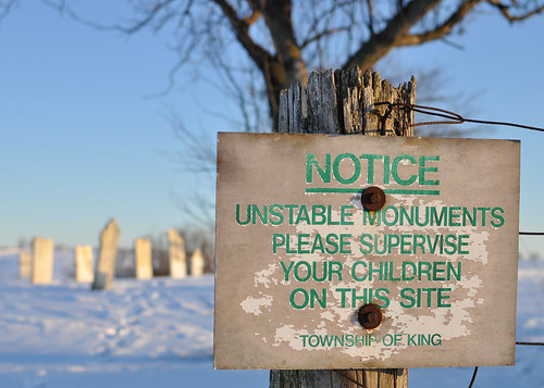 Kinghorn Cemetery, King Township, Ontario