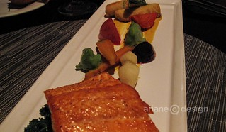 AURA/Steelhead and seasonal vegetables