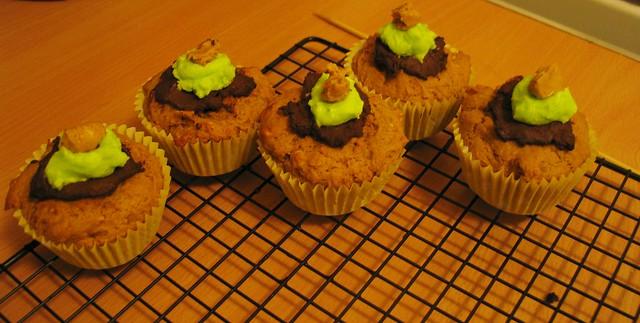 Vegan peanut butter cupcakes