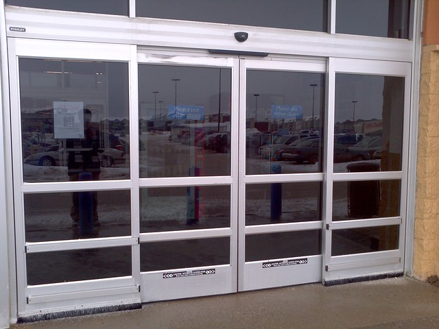 Stanley automatic sliding doors flickr photo sharing