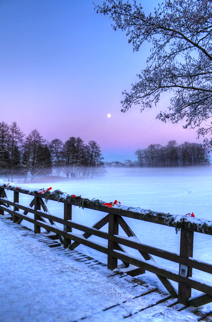 0343 - Lithuania, Trakai, Moonlight And Mist HDR