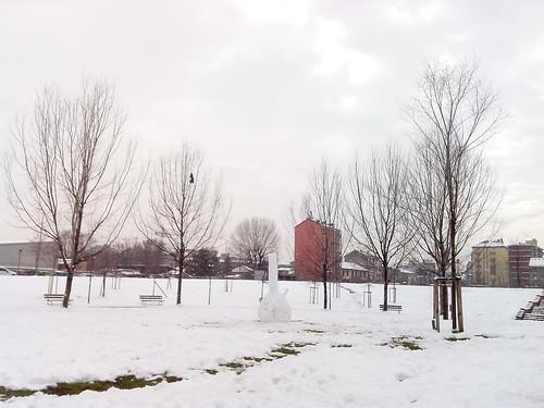 """Al centro del """"monumento"""" di neve by Ylbert Durishti"""