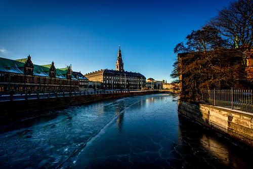 castle ice copenhagen palace christiansborg børsen folketinget christiansborgsslotsplads