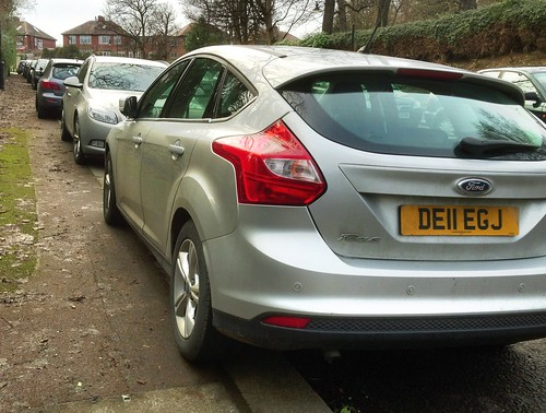 Pavement parking in Jesmond Dene