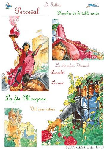 Le bonheur en famille l gende de troubadours la suite - Histoire des chevaliers de la table ronde ...