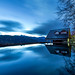 Daybreaking at Xueshan Mountain Lodge 雪山登山小屋之晨