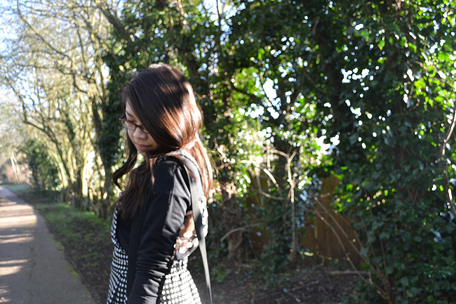 daisybutter - UK Style and Fashion Blog: what i wore, boohoo global styler campaign, SS13, pinafore, ootd