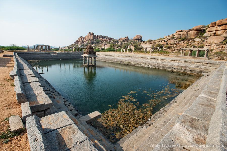 Reservoir, Karnataka, India