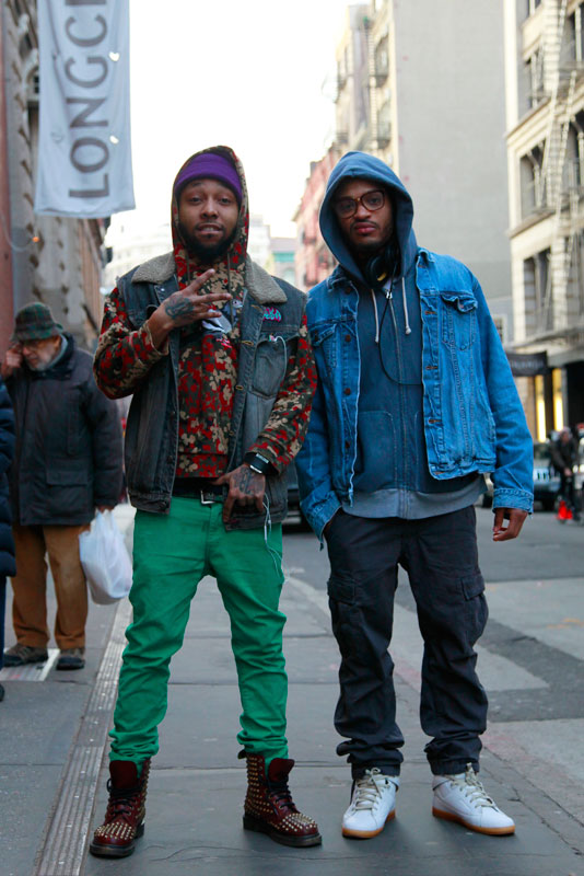 2soho men, street style, street fashion, NYC
