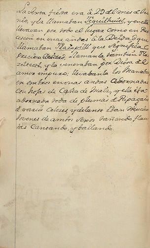 011- Texto de la sexta fiesta-Códice Veitia- Biblioteca Virtual Miguel de Cervantes