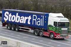 Scania R440 6x2 Tractor - PK11 NLM - Louise Anne - Eddie Stobart - M1 J10 Luton - Steven Gray - IMG_2302