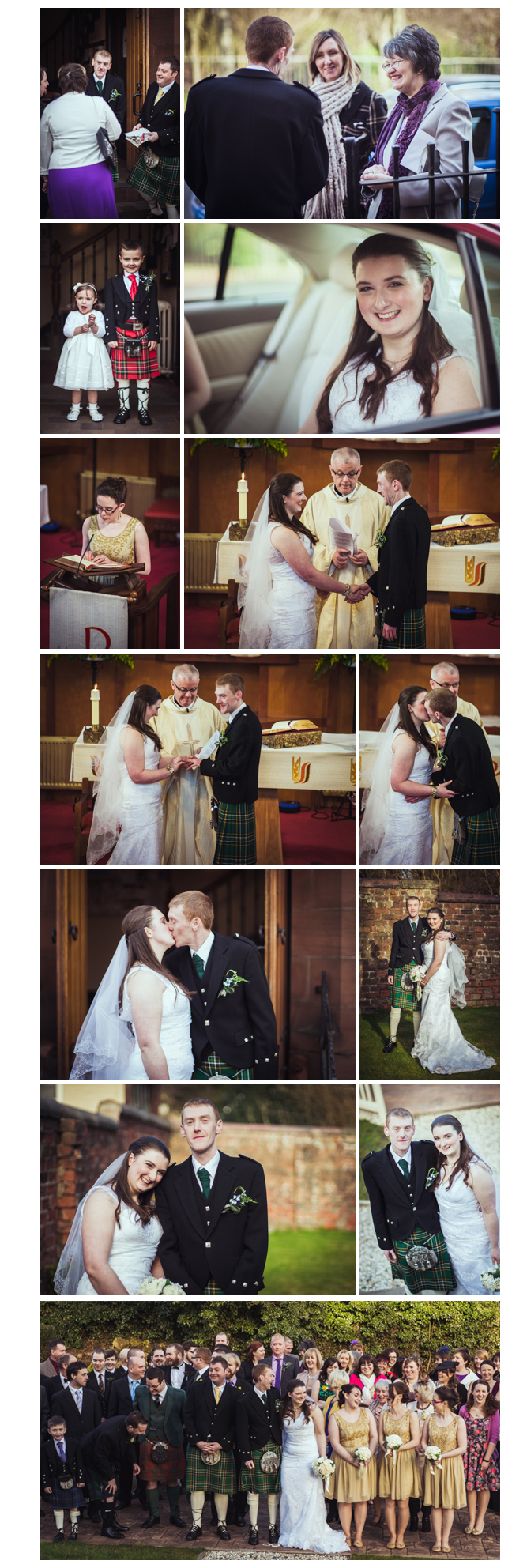 Pamela and Andrew Doherty Wedding Photographs