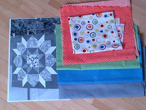 New project: Swoon baby quilt