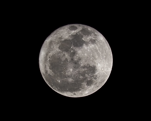Full Moon - Monday 25 Feb, 2013