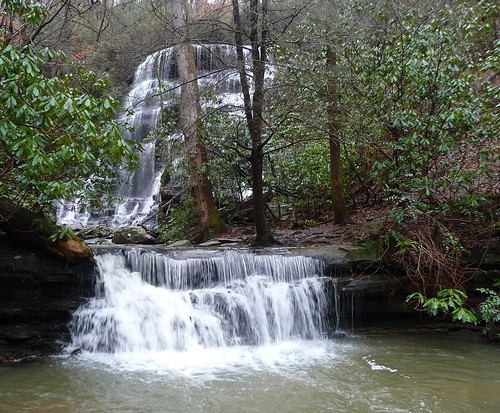 county sc yellow waterfall branch hiking southcarolina hike waterfalls co oconee yellowbranch