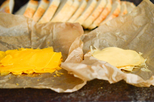 papery thin cheese