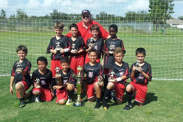 U9 Spirit Boys Win Kick Or Treat Cup