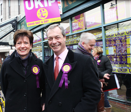 Nick Farage at Eastleigh By-Elections