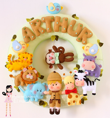 Para dar boas-vindas ao Arthur! ♡