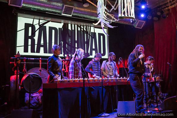 Undercover Presents Radiohead KidA @ the Rickshaw Stop, SF 2/24/13