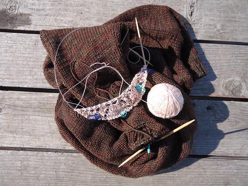 Knitting WIPs