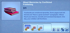 Mixed Memories by Conflicted Publishing