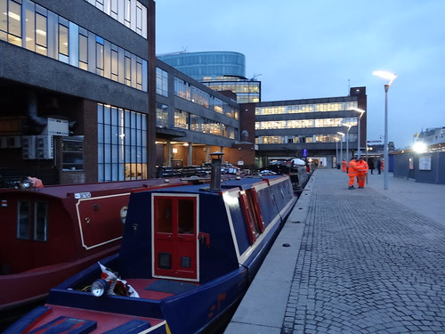 The northern of two Paddington stations exits onto the Regent's Canal
