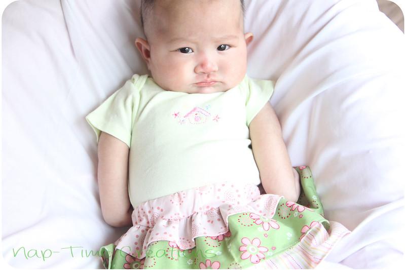 infant skirt free pattern
