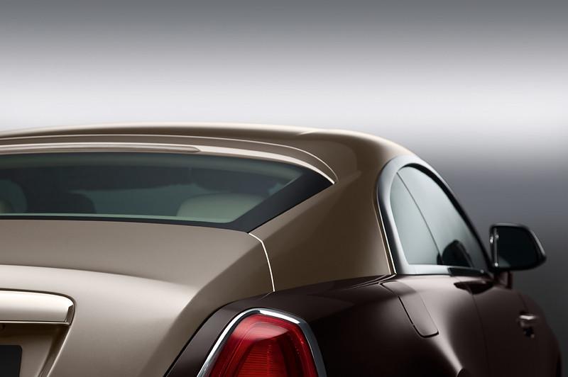 2014 Rolls-Royce Wraith roof